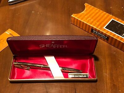 NOS Sheaffer Imperial 797 gold electroplated 797 - Med- ballpoint pen-NEW
