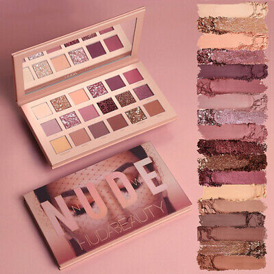 NEW Huda Beauty The New Nude Eye Shadow Palette 18 Colours UK