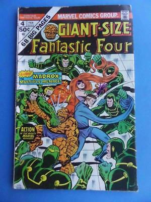 Giant Size Fantastic Four 4 1974 Fn
