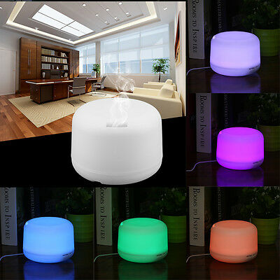 Aroma-Licht-Diffuser Ultraschall-Luftbefeuchter, 6 LED Farben, Humidifier