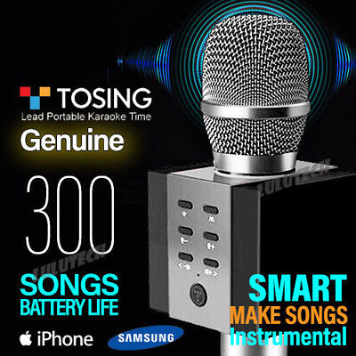 TOSING 008 Wireless Bluetooth Karaoke Microphone KTV Speaker Handheld Mic Q0L9