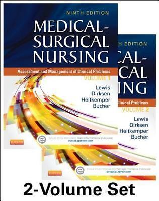 Medical-Surgical Nursing - Lewis 9th edition (with study guide- 3 books)
