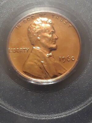1960 Small Date 1C Lincoln Memorial Cent PR66RD PCGS
