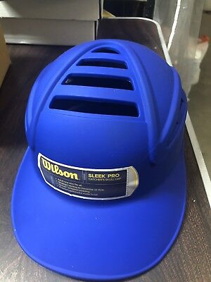 Wilson Sleek Pro Skull Catcher's Cap Royal