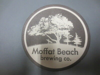 1 only MOFFAT BEACH Micro Brewery ,New South Wales First Issue,BEER Coaster
