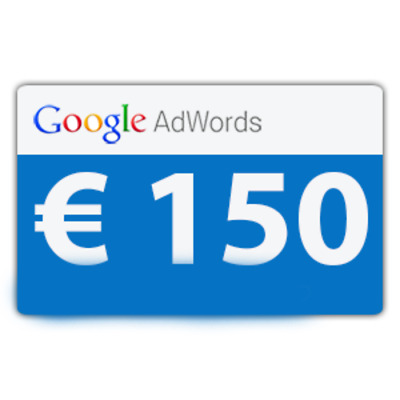 150$ Google Adwords Credit (Email delivered)