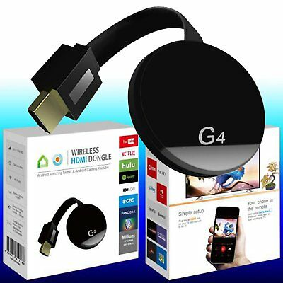 G4 Wireless Display Dongle WIFI 1080P HDMI TV Streamer Empfänger für IOS Android