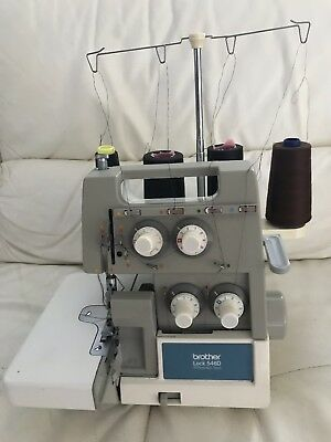 Brother Overlocker 546D with Manual