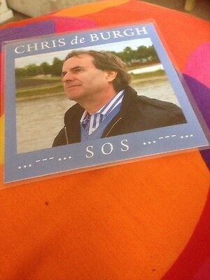 Chris De Burgh. S.os.blue Bayou 2Track Promotional Single Cd From Footsteps 2