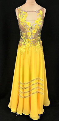 B7888 custom made American Smooth Ballroom Competition Modern Waltz Tango Dress