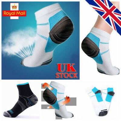 5Pair Plantar Fasciitis Compression Socks Heel Foot Arch Pain Relief Support UK