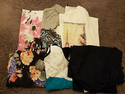 Job Lot 10/12 Bundle Womens Clothing (Summer Clothing Included- floral dress)