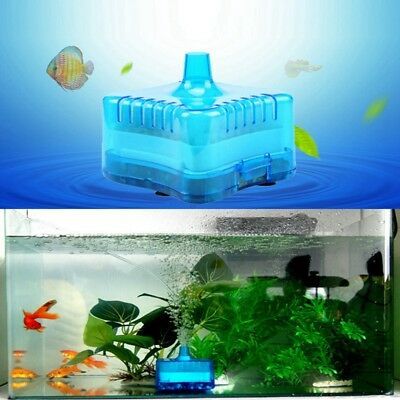1X Silent Aquarium Oxygenating Oxygen Fish Tank Pump Filter Ation Air Bubble AU