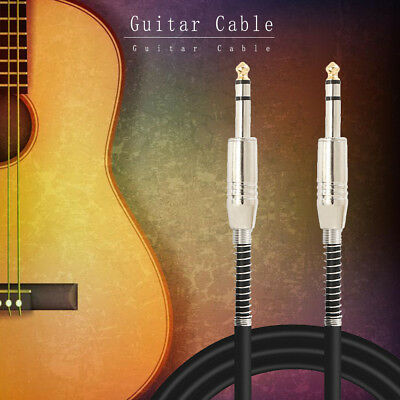 High Quality 10ft 3&6m Electric Patch Guitar Amplifier AMP Instrument Cable Cord