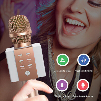 TOSING Wireless Bluetooth Karaoke KTV Microphone Speaker USB Singing Player C0I6