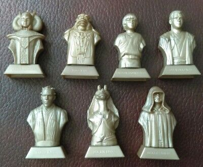 Collection Of Star Wars Episode 1 Figurines From Kellogg's.