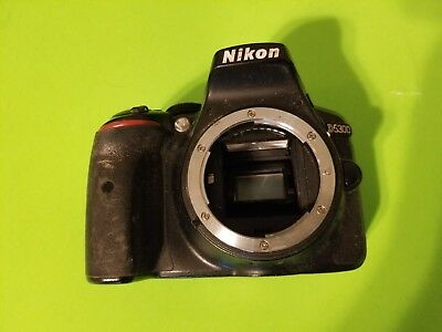Very Great Condition Nikon D5300 24.2MP Digital SLR Camera - Black (Body Only)