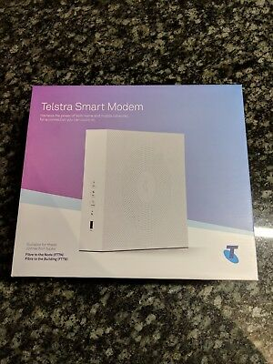 Telstra Smart Modem. Wifi Router, Like New, in Box. Model DJA0230