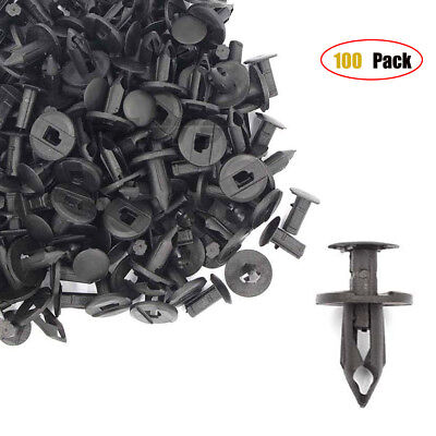 "100pcs 8mm 5/16"" UTV Can Am Replacement Plastic Fender Rivets Clips 293150089"