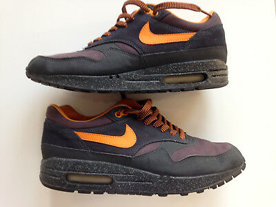 official photos c75b2 b63ed 2002 NIKE AIR MAX 1 B STORM Co.JP CHARCOAL TENNESSEE ORANGE ABYSS PURPLE UK8