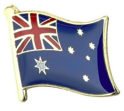 Australia Flag Badge Lapel Pin - Aussie Flag Enamel Pin Australia Anzac Day Pin
