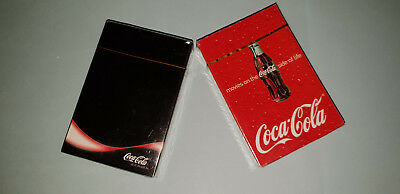 2 sets Coca Cola Collectable Playing Cards