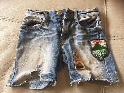 Rock Your Baby Size 0 distressed denim Shorts