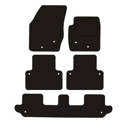 Volvo XC90 Years (2003 To 2014) Fully Tailored Black Carpet Car Floor Mats