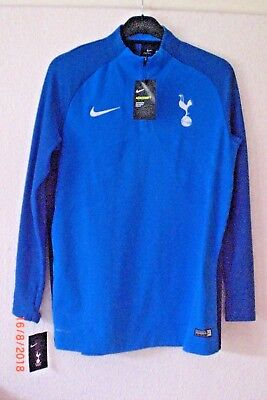 size 40 890e7 06aaf TOTTENHAM HOTSPUR BLUE AeroSwift Strike Drill Top Large