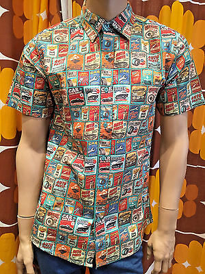 992f718d 500-3699 ROUTE 66 Vintage Tropical Classic Nostalgic Hawaiian Shirt ...