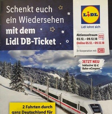 1 Lidl DB Bahnticket