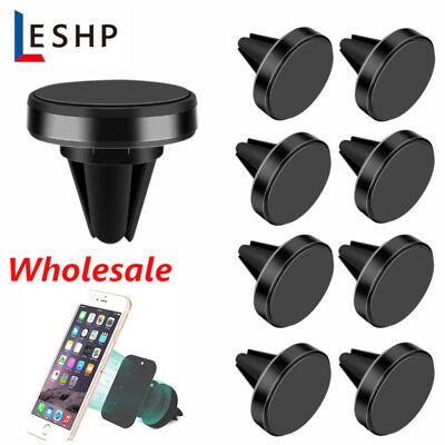 Wholesale 360 Rotation Magnetic Car Mount Holder Air Vent Stand Universal US BE