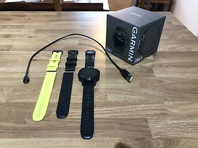 Garmin Fenix 5 Sapphire Edition 010-01688-11 Multisport GPS Watch Black Band