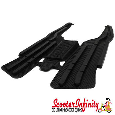 Floormat Floorboard Protection (Black) (Lambretta LI, SX, TV, DL, GP - Series 3)