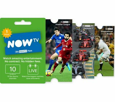 NOW TV Sky Sports Pass - 1 Week - Currys