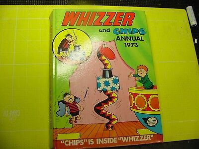 Whizzer And Chips Annual 1973