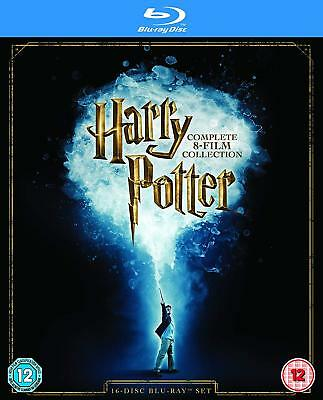 Harry Potter - The Complete 8 Film Collection HD Blu Ray 16 DISC Special Bonus