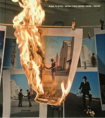 PINK FLOYD - Wish You Were Here - CD (SACD in hard-back book sleeve)