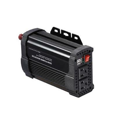 300W Car Power Inverter 12V DC to 110V ac Pure Sine Wave Inverter Duel USB  BG