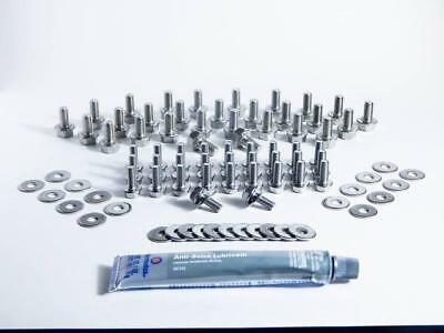 JDC Rear Section Only Stainless Steel Under-Body Hardware Kit Fits Nissan GT-R