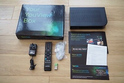 Talk Talk Dn370T 320Gb Youview Freeview Box With Pause & Rewind Catch Up Tv