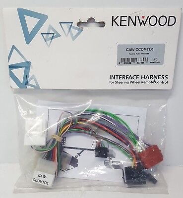 KENWOOD CAW-CCOMTO1 Car interface Harness for Steering Wheel Remote Control NOS#