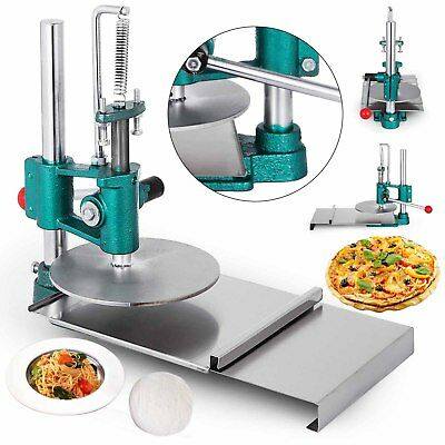 Pizza Dough Pastry Manual Press Machine Metal Plate Diameter 20CM / 7.8 inch USA