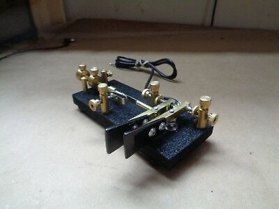 KN4YB Right Angle Double Lever Bug Key..vibroplex
