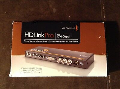 Pre-owned Blackmagic Design HD Link Pro DVI Digital