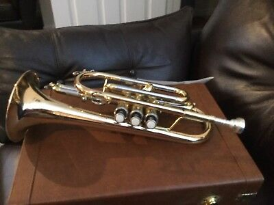 Cornet by Cranes. Brass And Nickel With mouthpiece