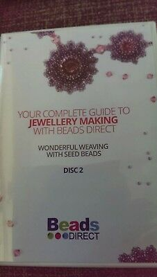 Beads Direct Wonderful Weaving with Seed Beads.CD ROM