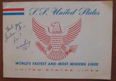 Ss United States Pre Maiden Voyage Guide