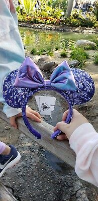 Disney Parks Purple Potion Minnie Mouse Ears