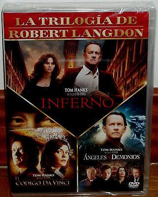 The Code Da Vinci - Angeles And Hell-Inferno 3 Dvd New Thriller (Unopened)